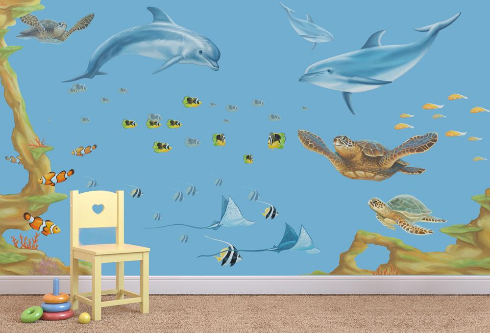 Under The Sea Wall Stickers Room Sets Inspiremurals Com