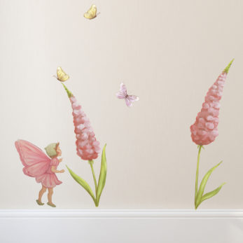 fairy wall stickers lupin