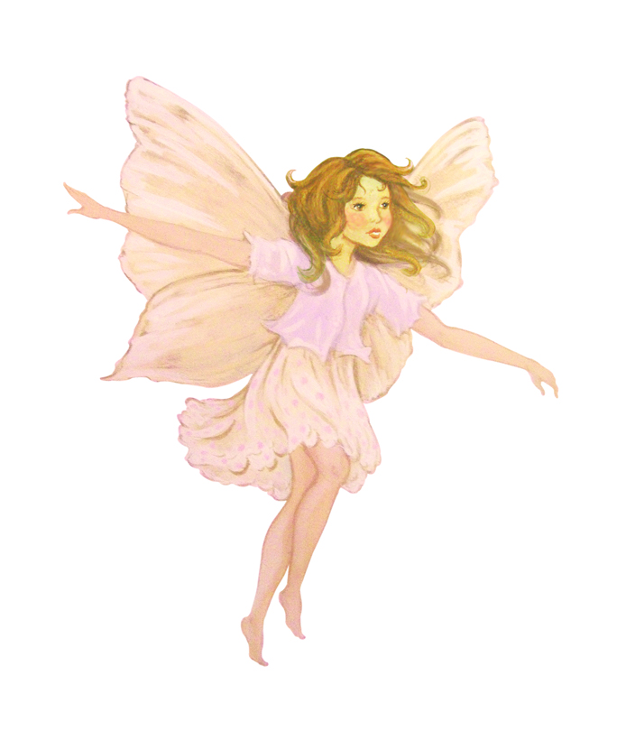 fairy wall stickers blossom