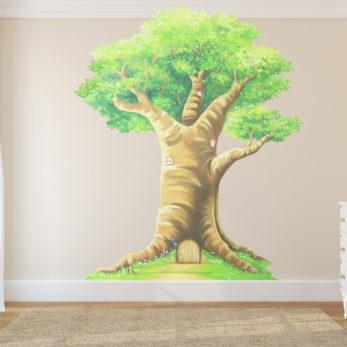 FAIRY TREE WALL STICKER