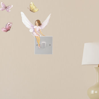 FAIRY WALL STICKER - VIOLET 2