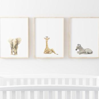 safari art prints
