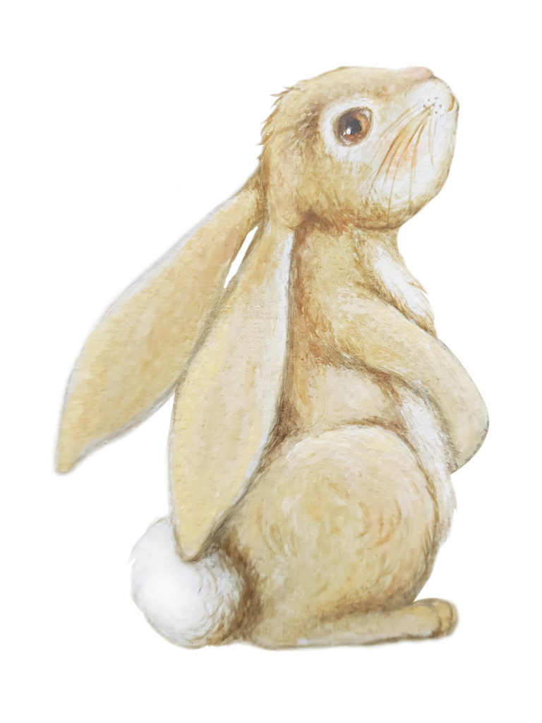 rabbit nursery decor