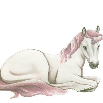 baby unicorn wall sticker