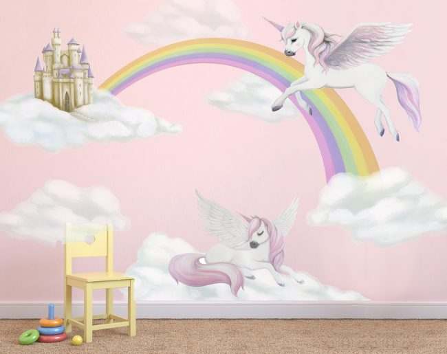 pegasus wall decals