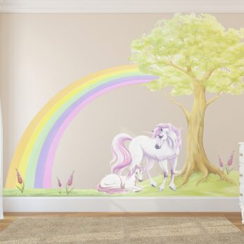 unicorn decal set