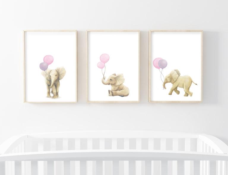 ELEPHANT ART PRINTS