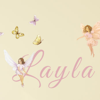 Fairy name decals