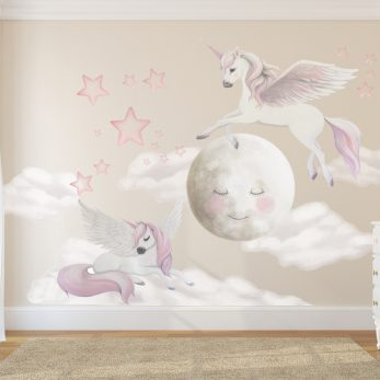 pegasus wall sticker