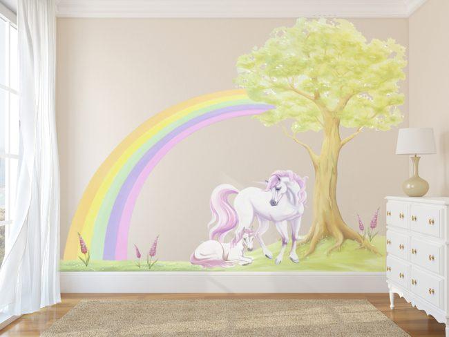 unicorn decal set